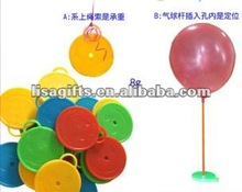 2012 hot selling smile face 4 colors avialble foil balloon weights