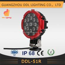 Factory led lamp 51W 12v led work light, 4x4 led worklight, Waterproof led work light