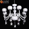Candle light,modern chandelier,eight bulbs light,OMG88620