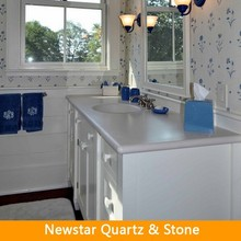 Cut- to- size artificial stone bathroom countertop vanity tops
