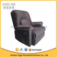 Home theater realxing leather / fabric recliner sofa for lazy boy