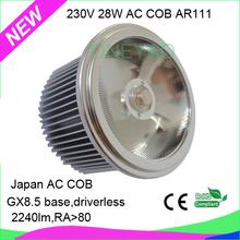 2015 2600 lumen 100-240v 20w 30w ar111 gu10 2500k led