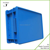 Antistatic plastic container with lid