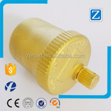 "1/8"" NPT industrial brass air vent valve"