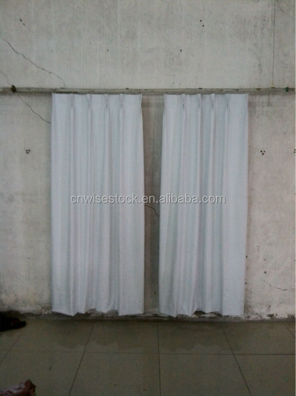 Striped curtain gromment