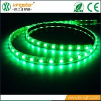 CE/RoHs Waterproof RGB IP65 led light strip 12W/M SMD 5050 flexible battery powered LED strip light wholesale
