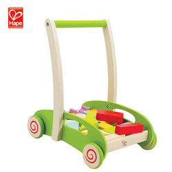 Eco baby wooden toys for baby walk training