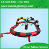 Outdoor race track with rc car, rc race track, electric race car tracks for kids