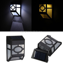 small High quality led solar fences lights ,wooden soalr pool fence lamp