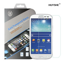 HUYSHE Glass film mobile phone for samsung s3 screen for samsung galaxy s3 i9300