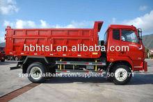 4x2 camiones dumper con chasis de dongfeng