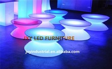 Beautiful Rechargebale Illuminated Table LED Bar Furniture,led glowing table