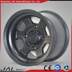 "Black No MOQ Required High Profile Car Alloy Wheel Rim 15"" 16""17""18""19""20"" 21"""