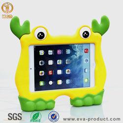 Cute cartoon shape Children Safe Durable Shockproof eva foam tablet case for mini 1 2 3