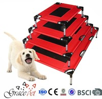 Metal frame dog bed iron pet bed