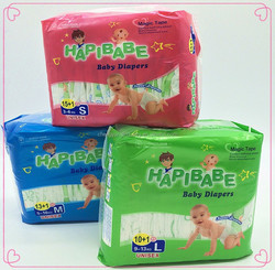 Private lable high quality A grade baby diaper manufacture