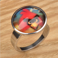 Yiwu Aceon Stainless Steel Bird Cartoon Child Ring