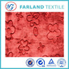 flower cutting double sided coral fleece dye synthetic fabrics for quilted set