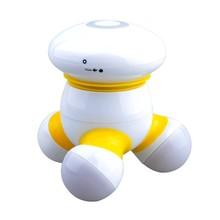 3 pilas AAA 3 headssmall y compacto mini massager del cuerpo, mini masajeador eléctrico