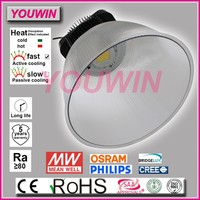 CE TUV GS ERP SAA approved workshop die casting aluminum 200W led high bay light fixture