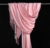 Factory Directly Solid Colour Custom Wool Pashmina Long Shawl