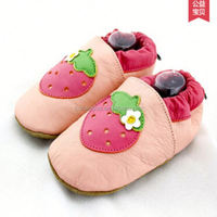 Sneakers italian 2015 NEW baby basketball shoes strawberry enviromental leather soft baby shoes
