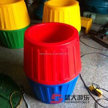 Kids plastic rolling drum toy/Sensory integration training toy