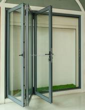 porta dobrável de alumínio
