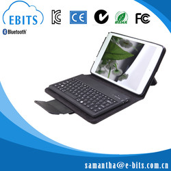 2015 Hot Selling mini Portable leather case with keyboard for ipad for 9.7 inch tablet pc for sale