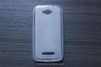 QWD ultra-thin TPU case for Alcatel C3 l OEM logo package phone case 0.8mm premium quanlity tpu mobile case