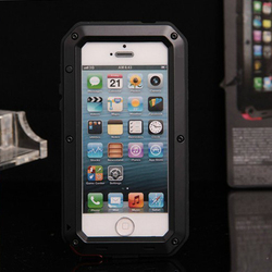 super tough mobile phone case for iphone 5,5s case, High protection aluminum metal phone case