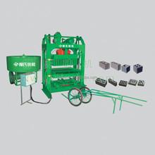 Asian hot selling grey porous manual mode brick machine LS4-25