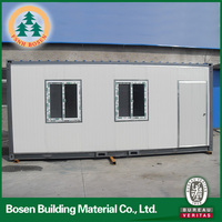 high quality 2 floor container house finished