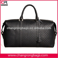 Top quality and fashion genuine travel leather bag for men