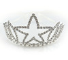 Wholesale HOT Selling Women Fashion Princess Big Star Crystal Tiara