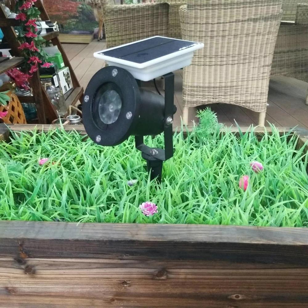 Solar Led Proiettori Faretti XLTD-1708C FAI DA TE impermeabile Solare Luci Laser per il Natale, giardino, prato