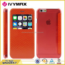 exquisite cell phone covers for iphone 6 hot press leather case