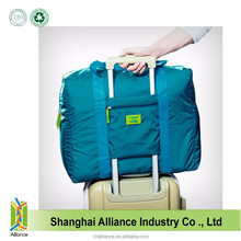 Green Color Bulk Expandable Waterproof Portable Lightweight Folding Travel Bag