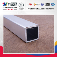 china manufacture stainless steel square pipe 50x50, schedule 40 square and rectangular steel pipe Tianjjin factory