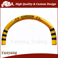 2015 Cheap advertising inflatable arch gate / inflatable arch for sale