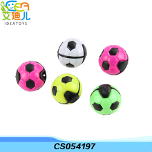 Colorful mini plastic ball shape key chain toy entertainments