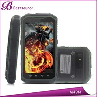 4.3inch long standby time battery mobile phone, clear talk phones, dual sim nfc phone
