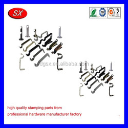 customized Wood Curtain Rod Brackets Sheet Metal Stamping Parts curtain rod wall brackets