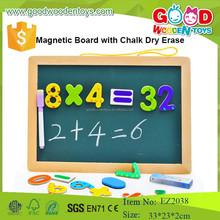 EZ2038 wholesale and custom educational board magnetic whiteboard dry erase wooden blackboard for kids