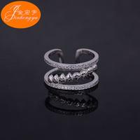 Wholesale high polished 925 sterling silver master slave ring