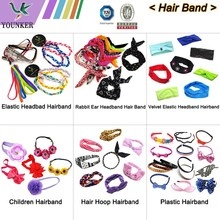 assorted designs lady girls baby elastic headband hair band hair accessories