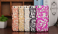2015 New arrival Unique Hollow design cases for iphone 5 5S 6 6plus ultra thin