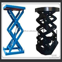 Hydraulic shear fork lift hydraulic motorcycle lift table portable lift table