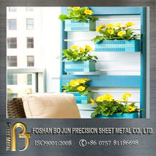 custom agricultural gardening folwer pot display racks hot selling products