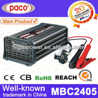 Battery charger 24 volt 5A, 7 stage automatic charging with CE,CB,RoHS certificate